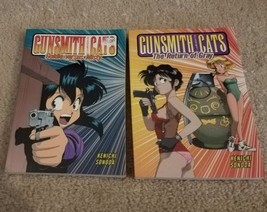 "Lot of 2 Gunsmith Cats Manga Books - ""The Return of Gray"" ""Goldie versus... - $14.99"