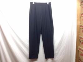 Ladies Black Worthington Stretch Casual Elastic Pants Sz 10