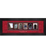 London, England Framed Letter Art - $39.95