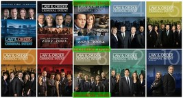 Law And Order Criminal Intent Complete Series Seasons 1-10 DVD Set - Brand New - $87.00