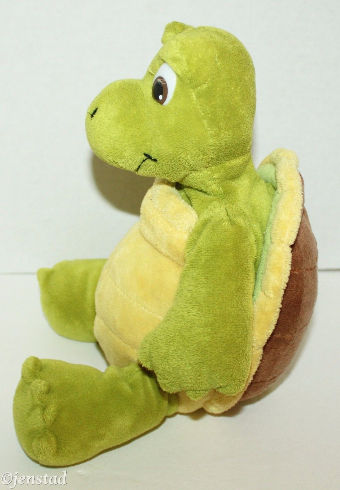 "VERN THE TURTLE DREAMWORKS OVER THE HEDGE 10"" PLUSH TOY FIGURE KOHLS CARES 2006"