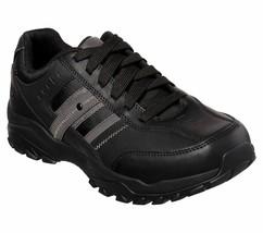 Skechers Black Extra Wide Fit shoes Men Memory Foam Sporty Casual Comfor... - $39.59