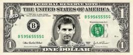 LIONEL MESSI on a REAL Dollar Bill Cash Money Collectible Memorabilia Celebrity  - $8.88