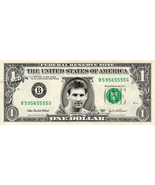 LIONEL MESSI on a REAL Dollar Bill Cash Money Collectible Memorabilia Ce... - $8.88
