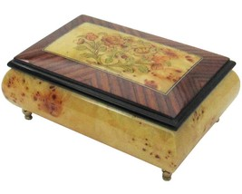 "Italian Music Box, 6.5"", Poplar, Gloss Finish - $229.95"