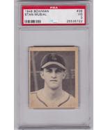 Stan Musial 1948 Bowman #36 ROOKIE Card PSA 3 VG - $499.00