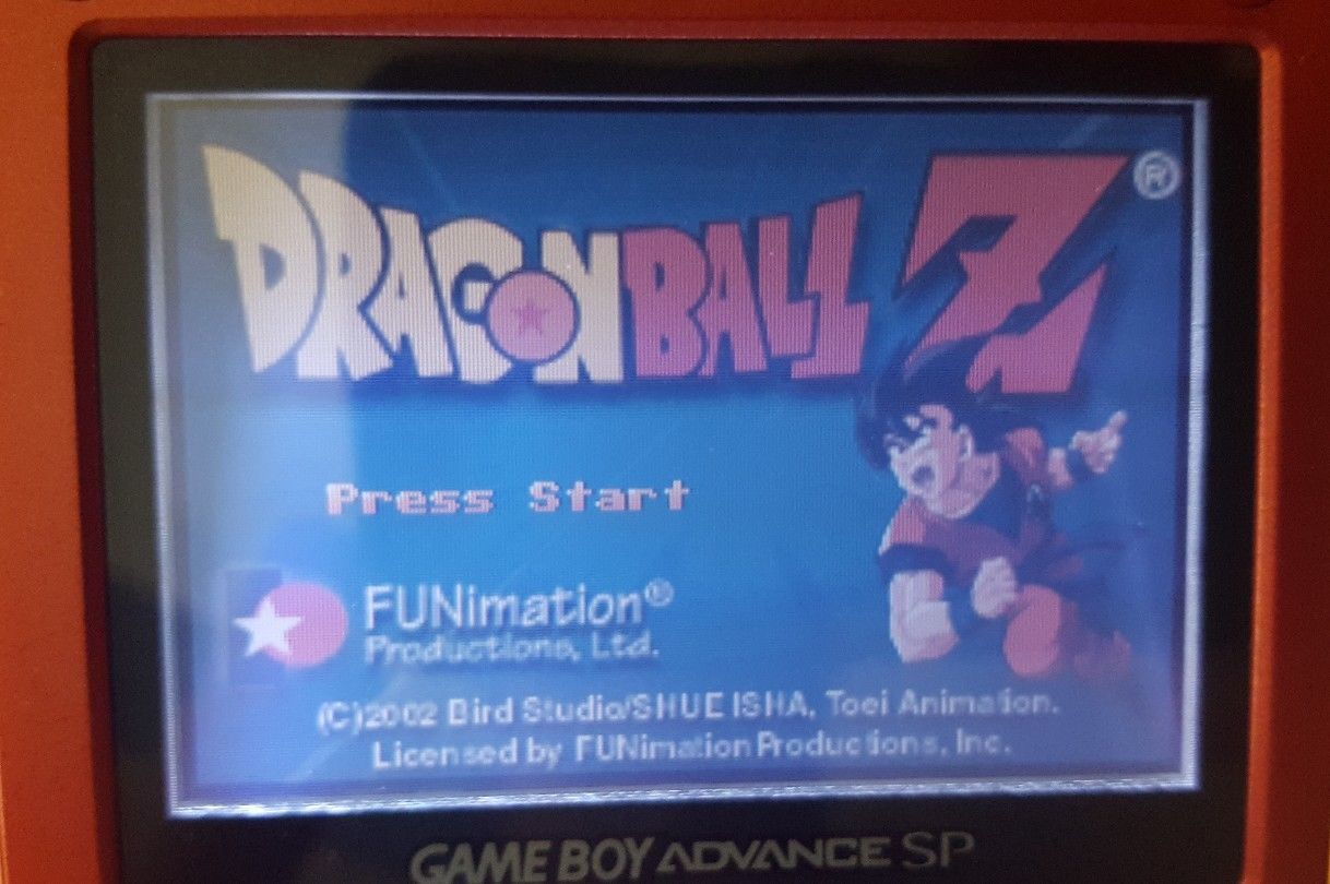 Dragon Ball Z : The Legacy Of Goku - Nintendo Game Boy Advance GBA