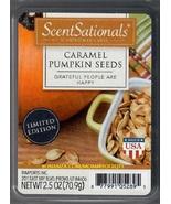 Caramel Pumpkin Seeds ScentSationals Scented Wax Cubes Tarts Melts Fall ... - $3.75