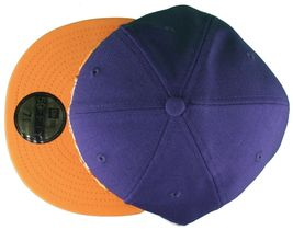 Dissizit New Era Fitted 59Fifty NY Hat Navy Orange New York City image 6