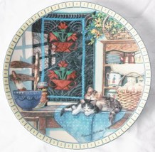 Knowles Cozy Country Corners: Lazy Morning Collector Plate 1st in series.   - $55.00
