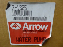 14079351 GM Water Pump Remanufactured By Arrow 7-1305 image 2