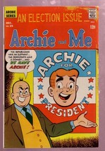 ARCHIE AND ME #25 1968-BETTY-ARCHIE FOR PRESIDENT-RARE-very good minus VG- - $31.04