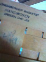 Longaberger Fixed Handle Candle Basket - 1999 image 6