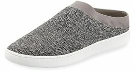 $195 VINCE. Slide Stretch Sneakers Ventura Fly Knit Mule Grey Marl ( 8.5 )  - $127.97