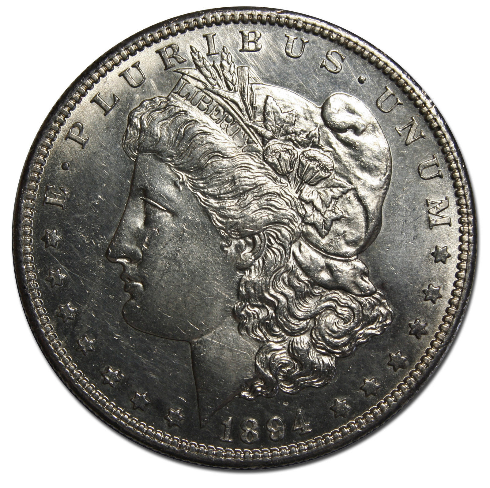 1894S MORGAN SILVER DOLLAR COIN Lot # MZ 4078