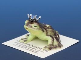 Birthstone Frog Prince Kissing December Zircon Miniatures by Hagen-Renaker image 1