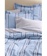LANDS' END Pillow SHAM Size: EURO New Oxford Stripe - $49.99