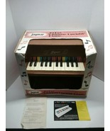 Vintage Jaymar Upright Miniature Piano 25-Key Wooden Child's Toy Piano - $80.00