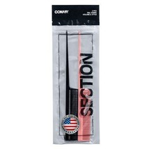 Tail Combs Made in the USA - 2pk Multicolor - $7.43
