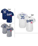 Men's Los Angeles Dodgers #35 Cody Bellinger Flex Base Jersey - $40.99