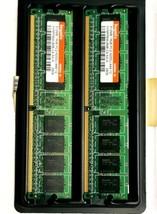 2x Hynix 512MB Memory RAM 1Rx8 PC2-4200U-444-12 HYMP564U648-C4 AA-A 0509... - $18.61