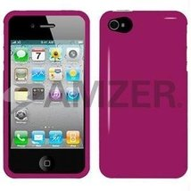 Amzer Injecto Snap On Hard Case for iPhone 4 4S - Hot Pink - $11.83