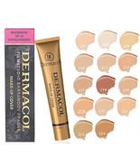 Dermacol Base Makeup Cover Foundation 30g Primer Concealer Base Professi... - $21.99