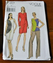 Vogue Pattern V9079 Dress Top Pants New Factory Folded * - $14.35
