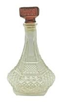Vintage Crystal Decanter Cut Glass Liquor Bottle Whiskey Scotch Bourbon ... - $55.85