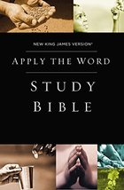 NKJV, Apply the Word Study Bible, Hardcover, Red Letter Edition: Live in... - $17.82