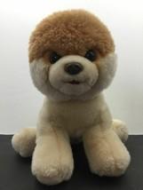 """Gund Boo The Worlds Soft Huggy Cutest Pomeranian Dog Plush Doll Toy 10"""" - $28.04"""