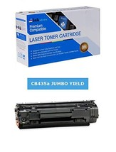 Inksters Compatible Black Toner Cartridge Replacement for HP 35A CB435A(J) Black - $21.54