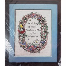 In All Things Counted Cross Stitch Kit 9x12 Bucilla 40888 Vintage 1994 c... - $13.99