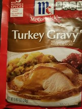 McCormick Turkey Gravy .87 Oz Each Best by 7/22 (3 Packs) - $9.00