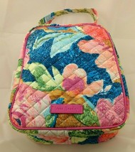NWT Vera Bradley Iconic Lunch Bunch Bag Soft Case in Superbloom #190513-094 - $25.20