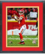 Patrick Mahomes 2018 AFC Divisional Playoff Game -11x14 Matted/Framed Photo - $43.55