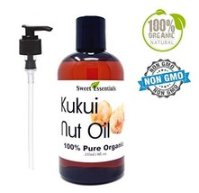 100% Organic Kukui Nut Oil | Imported From Hawaii | Various Sizes | 100% Pure |