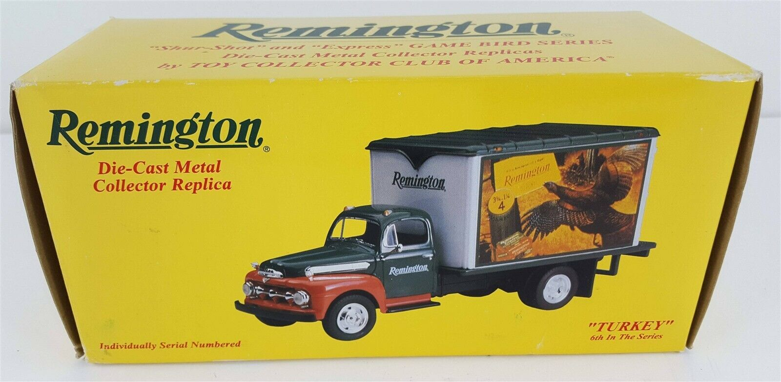 Primary image for First Gear 1951 Ford Remington Turkey Truck Bank Game Bird Series 1:34 Ltd. Ed.