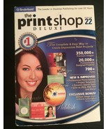 Print Software The Print Shop Deluxe Version 22 - $14.85