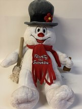 """Build A Bear 18"""" Frosty The Snowman Plush Toy W SOUND & LIGHTS  Working! Tested. - $14.85"""