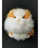 Whiskas Chuck Kitty Cat Stuffed Animal Orange Plush Gund 1999 Vintage  - $19.26