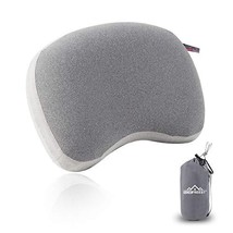 HOMFREEST Inflatable Camping Pillow Ultralight Backpacking (Grey Contoured) - $30.00