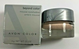 NOS Avon Beyond Color Mousse Eyeshadow Single .21 oz PACIFIC PEARL - $12.86