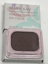 Mary Kay Powder Perfect Eye Color Tuxedo Brown 3511 Eye Shadow - $11.99