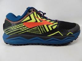 Brooks Caldera 2 Size 7 M (D) EU 40 Men's Trail Running Shoes Black 1102721D429