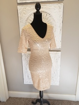 BCBG Max Azria Staggered Sequin Dress xs - $225.00