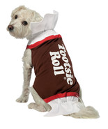 Tootsie Roll Pet   Dog Halloween Costume , Large - Free Shipping - $29.00