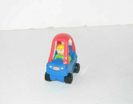 Little Tikes Cozy Coupe Mini Car Toy With Driver 2005 Burger King Toy - $9.85