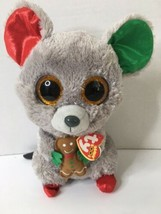 "Ty Mac Mouse Beanie Boo Plush Stuffed Toy Christmas Edition 9""   - $21.77"
