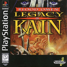Blood Omen Legacy Of Kain PS1 Great Condition Fast Shipping - $17.94